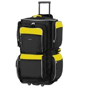 Travelers Polo & Racquet Club Adventurer 30'' Travel Duffel; Yellow and Black