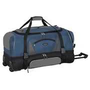 Travelers Polo & Racquet Club Adventurer 36'' Travel Duffel; Navy and Black