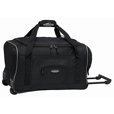 Travelers Polo & Racquet Club Adventurer 22'' Travel Duffel; Black