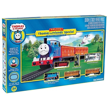 Bachmann Trains HO Scale Thomas Deluxe Train SetSorry, this item is currently out of stock.