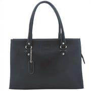 Leatherbay Allison Tote Bag; Black