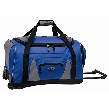 Travelers Polo & Racquet Club Adventurer 22'' Travel Duffel; Navy and Black