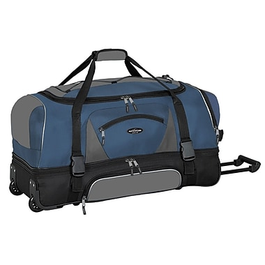 Travelers Polo & Racquet Club Adventurer 30'' Travel Duffel; Navy and Black
