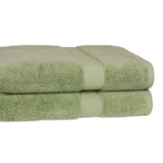 Calcot Ltd. Growers 100pct Zero-Twist Supima Cotton Oversized Bath Sheet (Set of 2)