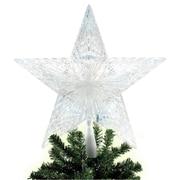 Brite Star 10 Light Pentagram Star LED Tree Topper