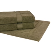 Calcot Ltd. Growers 3 Piece Towel Set; Moss Green