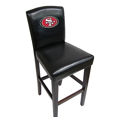 Imperial NFL Bar Stool  (Set of 2); San Francisco 49ers