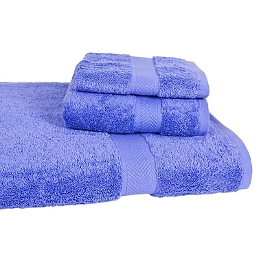 Calcot Ltd. All American Cotton Line 3 Piece Towel Set (Set of 3); Morning Glory