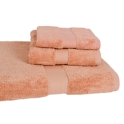 Calcot Ltd. All American Cotton Line 3 Piece Towel Set (Set of 3); Champagne