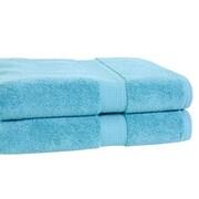 Calcot Ltd. Growers Bath Towel (Set of 2); Teal