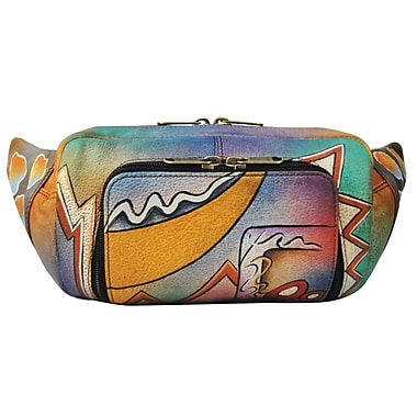 Anuschka Belt Bag / Fanny Pack; Abstract Twilight