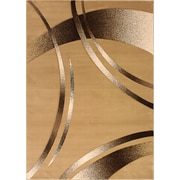 Segma Reflections Light Beige Rug; 8' x 11'