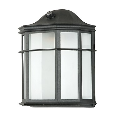 Sunset Lighting 1-Light Outdoor Flush Mount