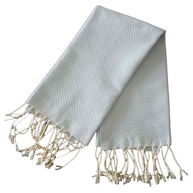 Scents and Feel Fouta Honeycomb Weave Hand Towel; Azur