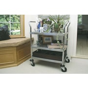 A-Line by Advance Tabco 38'' Stainless Steel Utility Cart; 38'' H x 37.75'' W x 24'' D