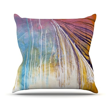 KESS InHouse Sway Throw Pillow; 18'' H x 18'' W