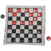 Multiflex Designs Jumbo Checker Rug Game; 28'' x 28''