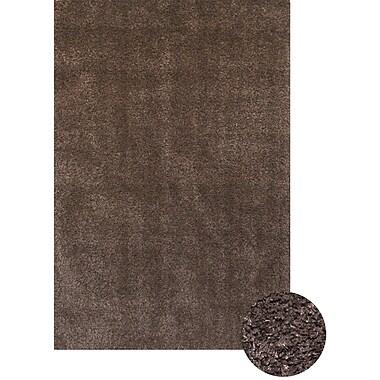 Abacasa Comfort Shag Chocolate Area Rug; 7'9'' x 10'6''