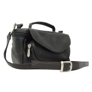 Piel Adventurer Deluxe Carry-All Camera Bag; Black