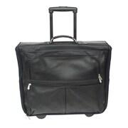 Piel Traveler Garment Bag; Black
