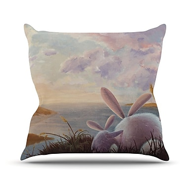 KESS InHouse A New Perspective Throw Pillow; 26'' H x 26'' W