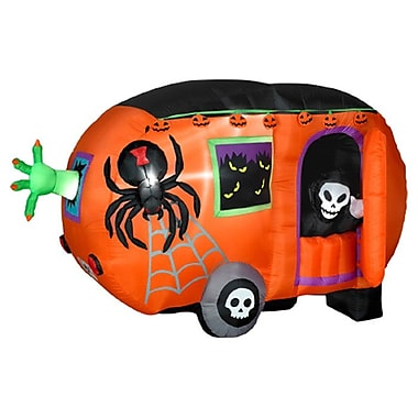 Gemmy Industries Airblown Halloween Inflatable Camper Halloween Decoration