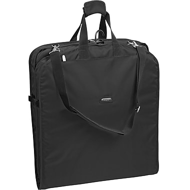 Wally Bags 42'' Garment Bag; Black
