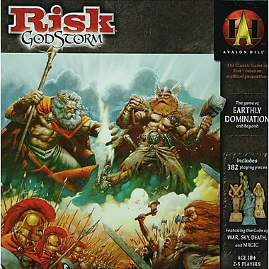 Wizards of the Coast Risk Godstorm Board Game