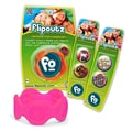 Wild Creations Flipoutz Bracelet with One Coin and Two Additional Coin Pack in Hot Pink