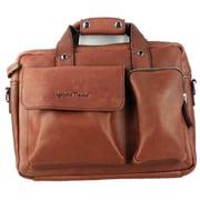 Vagabond Traveler Messenger Bag; Reddish Brown