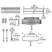 Tiella 150W Surface Transformer Pack; Electric/Bronze