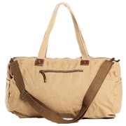 Vagabond Traveler 19.7'' Crossbody Shoulder Gym Bag; Khaki
