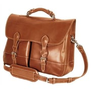 Mulholland Brothers Briefcases Messenger Bag; Bridle Tan