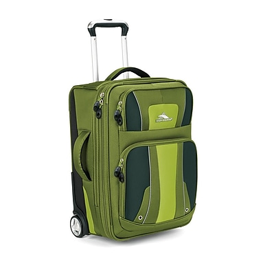High Sierra Evolution 22'' Carry On Upright Suitcase; Amazon