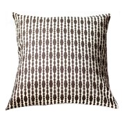 Swanky Swell Raindrops Throw Pillow; Bittersweet Chocolate