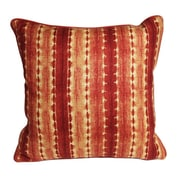 The Well Dressed Bed Morrocan Henna Ikat Accent Cotton Throw Pillow