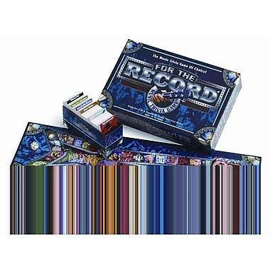 Talicor For the Record 80's and 90's Edition Trivia Game