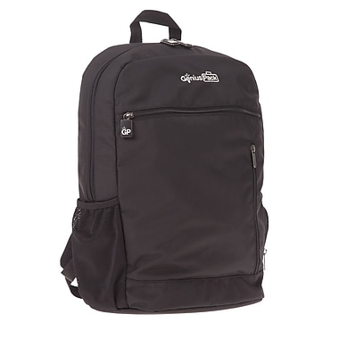 Genius Pack Travel Backpack; Black