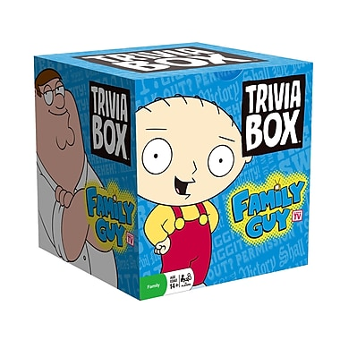 Imagination Games Trivia Box Family Guy Game