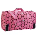 Wildkin Ashley Weekender Duffel Bag; Pink