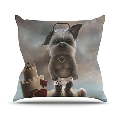 KESS InHouse Grover Throw Pillow; 20'' H x 20'' W x 4.5'' D