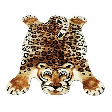Walk On Me Leopard Kids Rug; 3'3'' x 4'7''