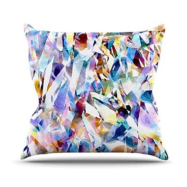 KESS InHouse Buzz Throw Pillow; 18'' H x 18'' W