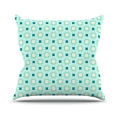 KESS InHouse Tossing Pennies I Throw Pillow; 26'' H x 26'' W