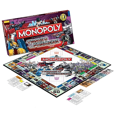 USAopoly Transformers Monopoly