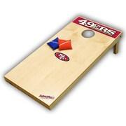 Tailgate Toss NFL Tailgate Toss XL Bean Bag Toss Game; San Francisco 49ers