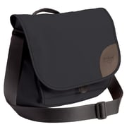 Overland Equipment Maisie Messenger Bag; Black / Dusty Blue