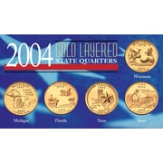 American Coin Treasure 2004 State Quarters Coin Display Case