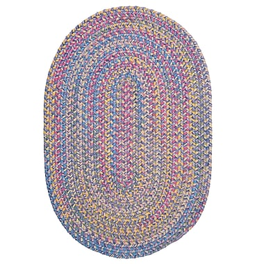 Colonial Mills Botanical Isle Amethyst Area Rug; Round 8'