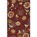 Surya Rain Burnt Sienna Outdoor Rug; 3' x 5'